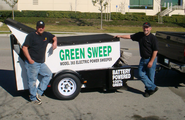 Green Sweep Bio - Art and Richard